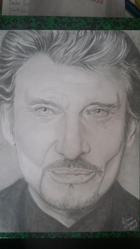 Johnny Hallyday by Drine